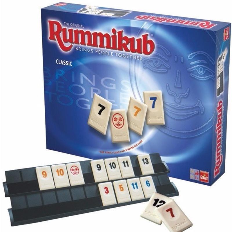 Familie spel rummikub