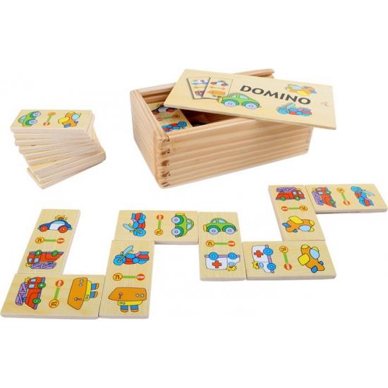 Domino spellen voertuigen