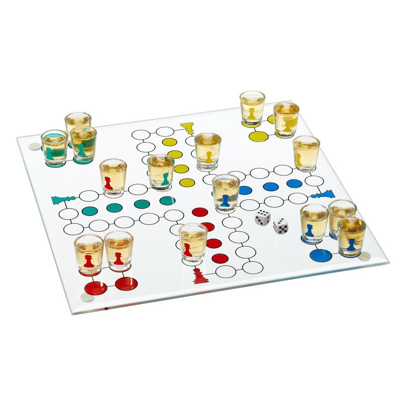 Drankspel drinkspel bordspelletje ludo ergernis 19 delig